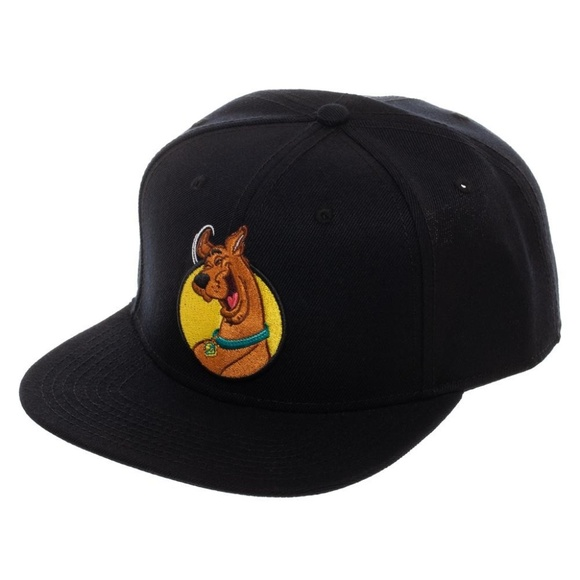 768be993e Scooby Doo Snapback Hat - Black Hanna Barbera